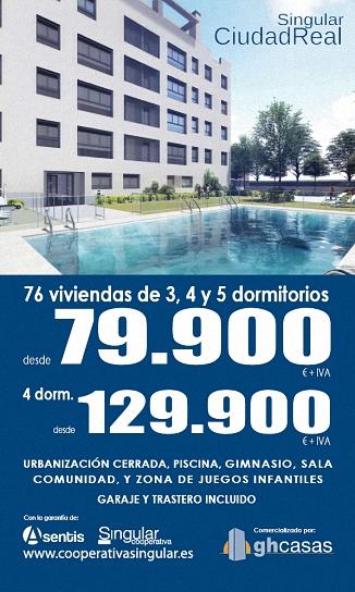 Ciudad Real Singular NUEVA PROMOCIÓN  Vivienda
