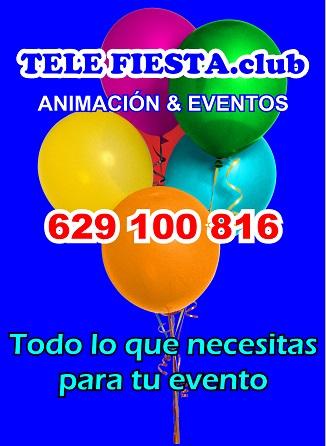 Telefiesta.club - Todo lo que necesitas para tu evento! - 629 100 816