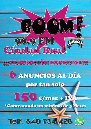 BOOM FM CIUDAD REAL