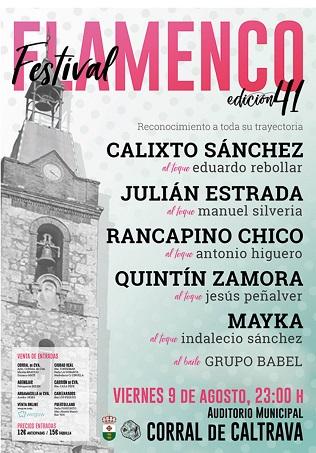Festival Flamenco en Corral de Calatrava 316