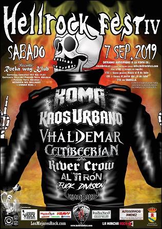 HellRock Fest IV - 7Sept19 - Retuerta del Bullaque