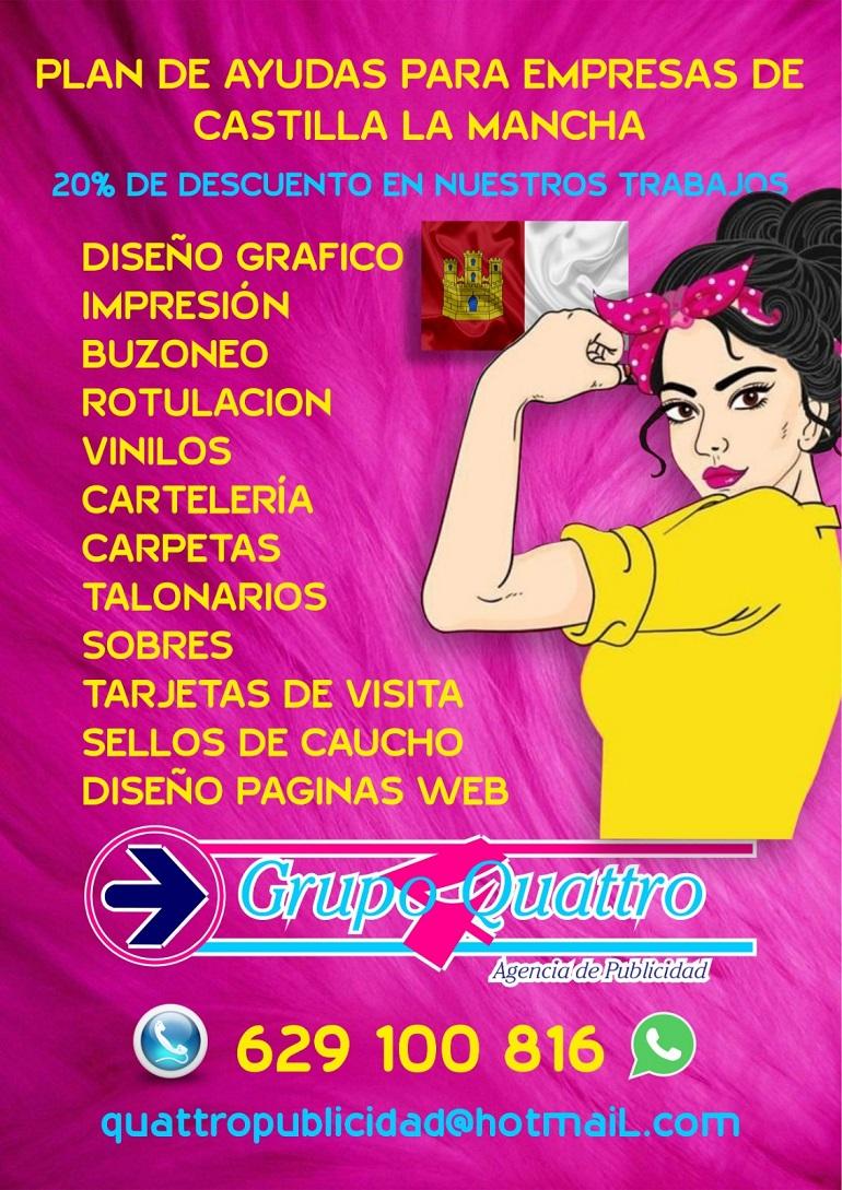 Plan de Ayudas a empresas de Castilla La Mancha - Grupo Quattro